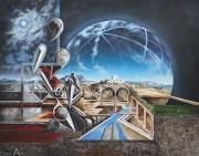 POUECH - Huile sur toile - 114 x 146 cm