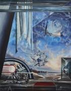 POUECH - Huile sur toile - 146 x 114 cm