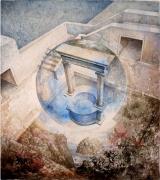POUECH - Aquarelle - 45 x 35 cm