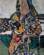 Cavadore - 9165 - acrylique sur toile - 50 x 40 cm