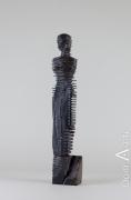 Bernard ABTEY - Fremissement - Ebene de Macassar - hauteur 48 cm