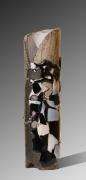 Nad Vallée - Totem - verre / grès - 45 x 15 cm