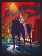 Olivier Bonhomme - Urbanité - technique mixte, tirage unique sur dibond - 56 x 76 cm