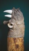 Nathalie Charrié - Rhinoc'Eros - 150 x 50 x 50 cm