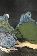 Anne FEAT GAISS - Oracle V - 55 x 38 cm - technique mixte