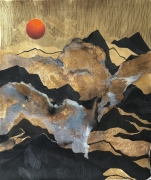 Anne FEAT GAISS - Oracle X - 101 x 81 cm - technique mixte