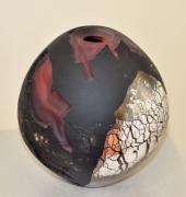 Pascal Lemoine - Vase - hauteur 24 cm