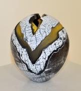 Pascal Lemoine - Vase - hauteur 19 cm - vendu